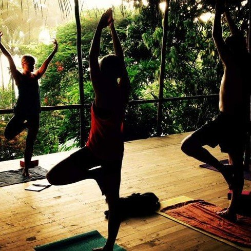 Ayahuasca center with yoga classes.  An ayahuasca yoga retreat in Bolivia