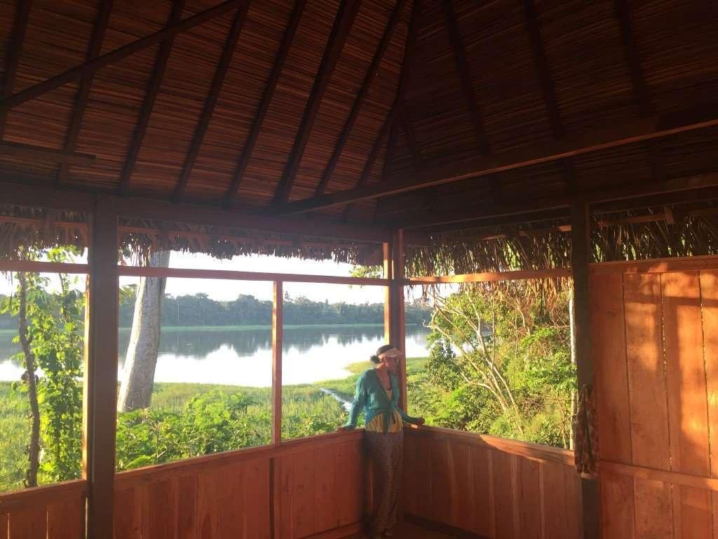 Aquicuana Lago Selva Bolivia