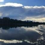 Amazon Lake Sky