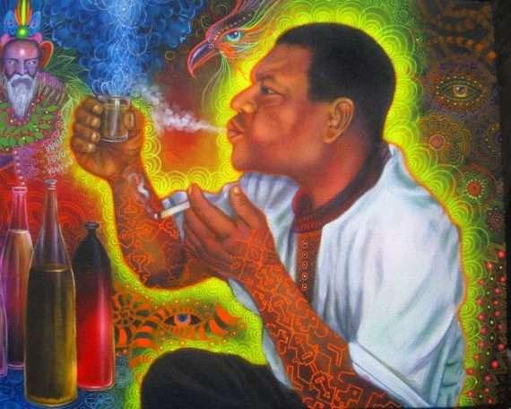 Ayahuasca Artist in Bolivia