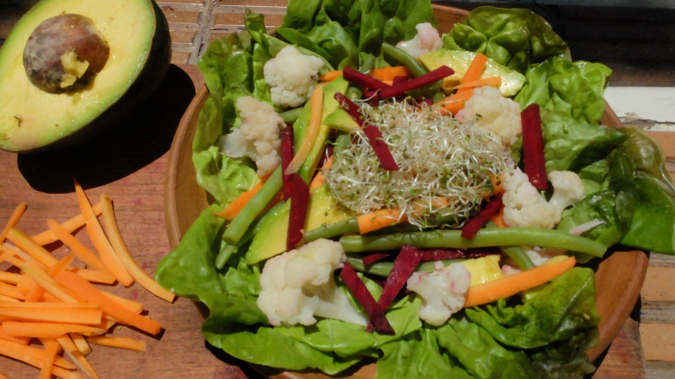 Nutricious food is part of the traditional ayahuasca diet